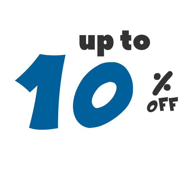 Save up to 10% off on these deals!
