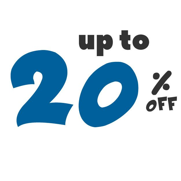 Save up to 20% off on these deals!