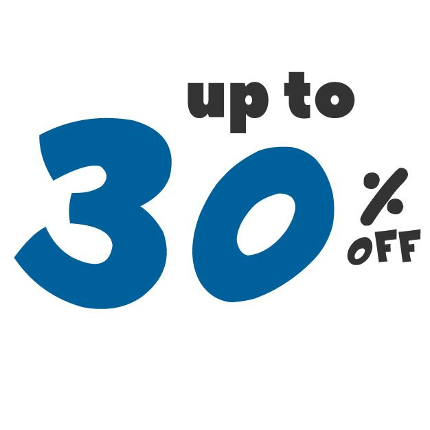 Save up to 30% off on these deals!