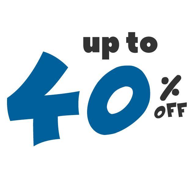 Save up to 40% off on these deals!