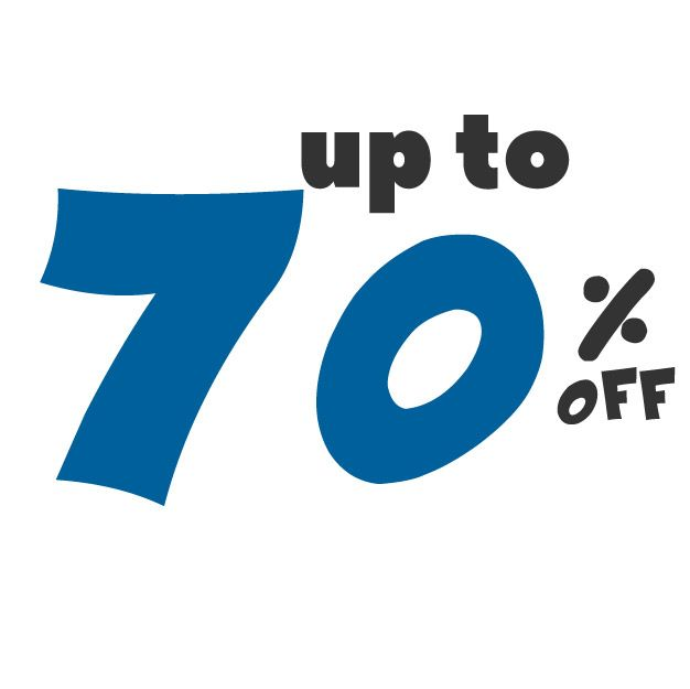 Save up to 70% off on these deals!