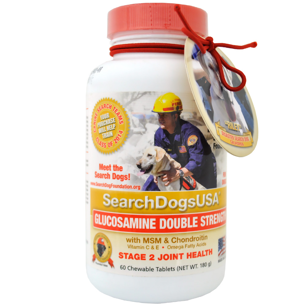 SEARCHDOGSUSA-GLUCOSAMINE-DOUBLE-STRENGTH