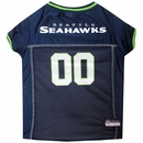 Seattle Seahawks Dog Jersey - Large