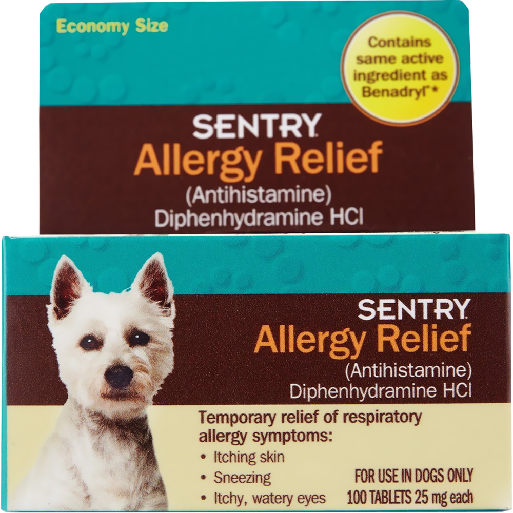 SENTRY-ALLERGY-RELIEF-TABS-DOGS