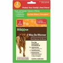 SENTRY HC WormX Plus 7 Way De-Wormer - Medium & Large Dogs over 25 lbs (2 count)