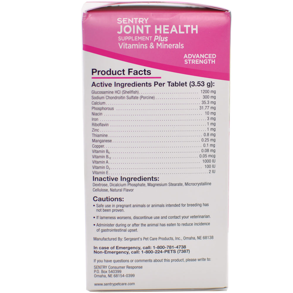 SENTRY-JOINT-HEALTH-PLUS-ADVANCED-30-CHEW-TABLETS