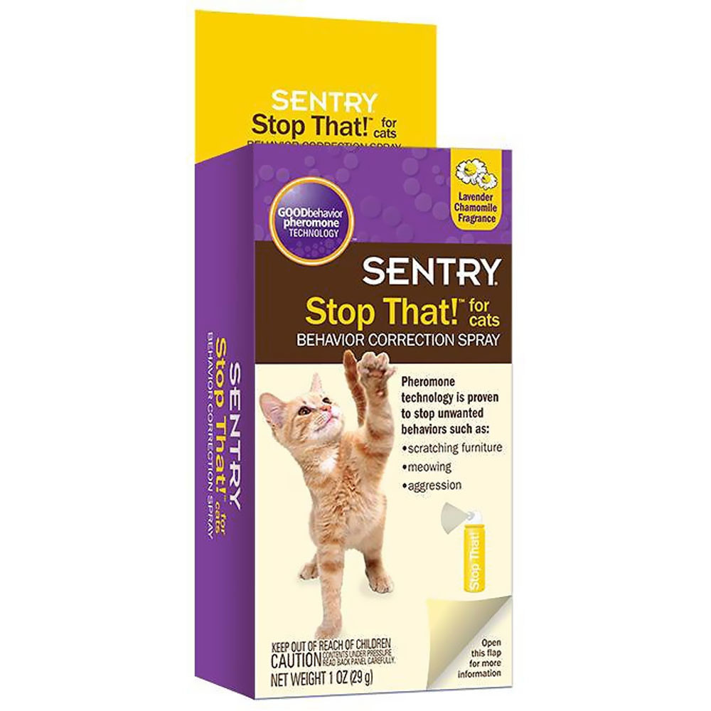 Sentry Stop That! - Behavior Correction Spray for Cats (1 oz) im test