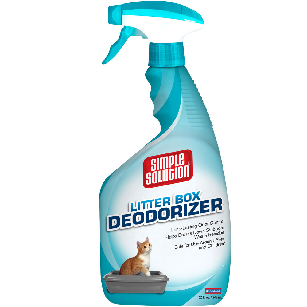 Simple Solution Cat Litter Box Deodorizer Spray (32 fl oz) im test