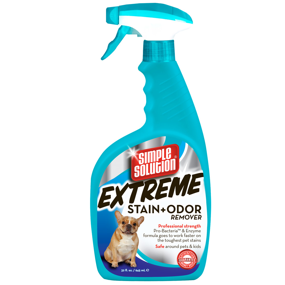 Image of Simple Solution EXTREME Stain & Odor Remover Spray - 32 fl oz - from EntirelyPets