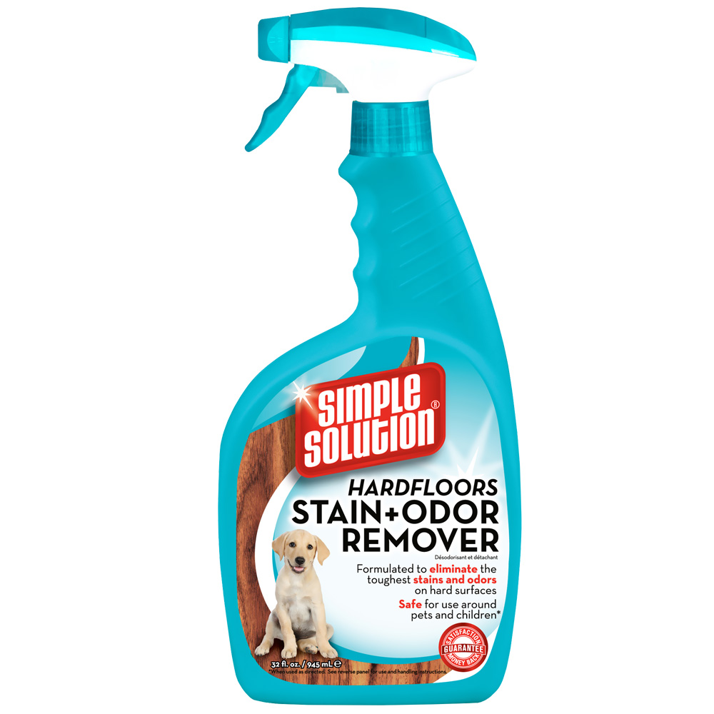 Simple Solution Hardfloors Stain & Odor Remover Spray (32 oz) im test
