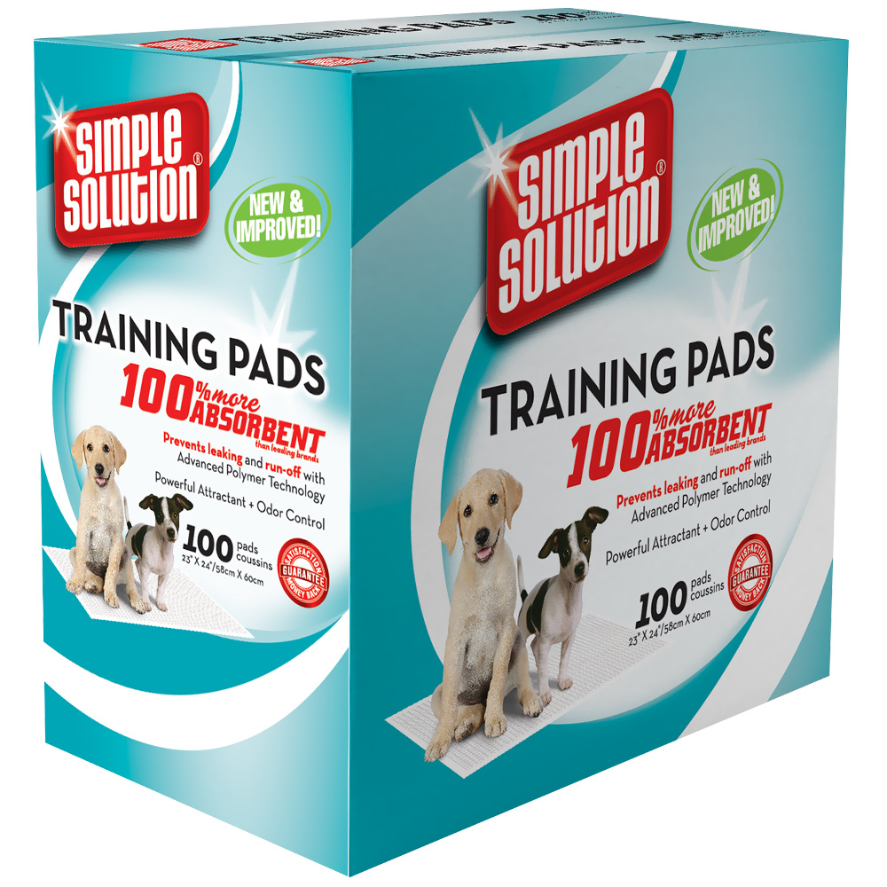 SIMPLE-SOLUTION-ORIGINAL-TRAINING-PADS-100-PAD-PACK-23-X-24