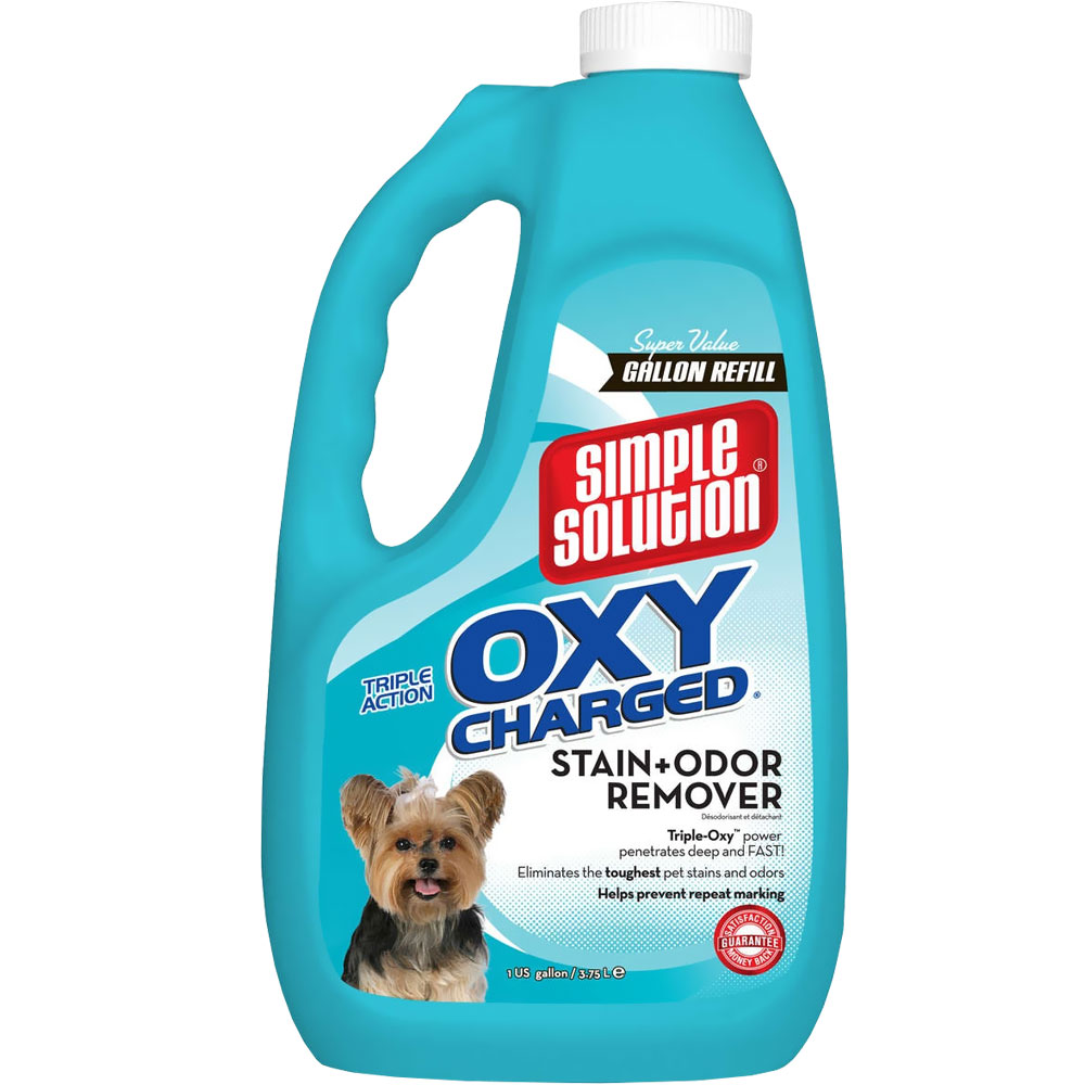 Simple Solution Oxy Charged Stain & Odor Remover Spray (Gallon) im test