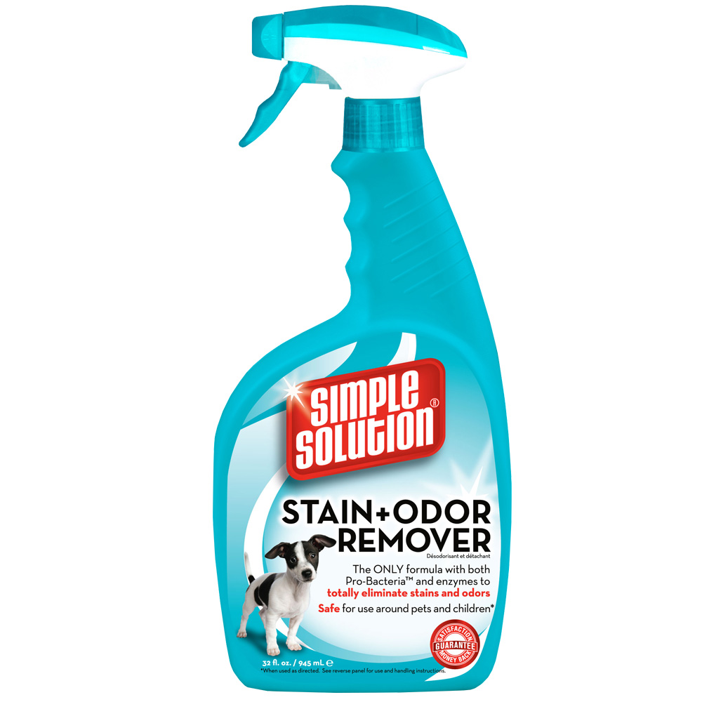 SIMPLE SOLUTION Stain & Odor Remover for Cats & DOGS - 32 fl oz - from EntirelyPets