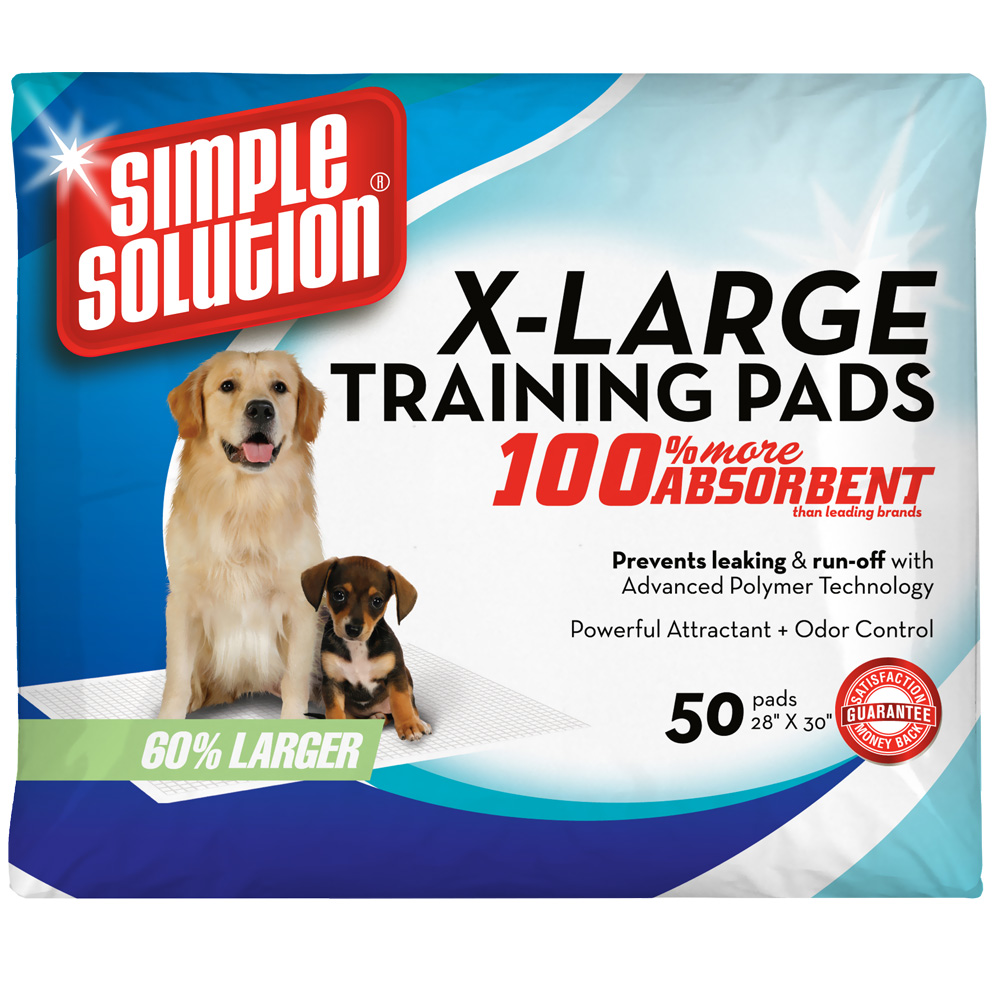 """""""Simple Solution Training Pads - Extra Large (50 Pad Pack 28"""""""" x 30"""""""")"""" im test"""