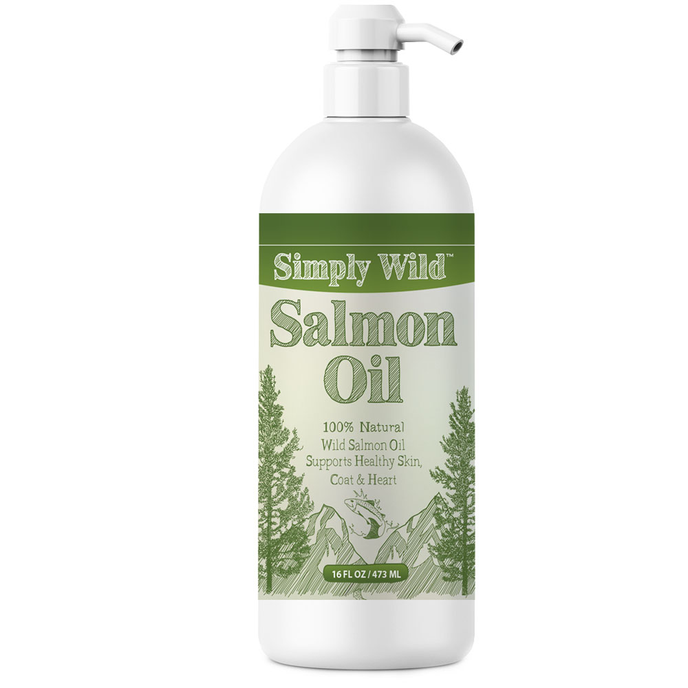 Simply Wild Salmon Oil (16 fl oz)
