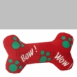 "Singing ""Bow Wow"" Dog Bone - RED"