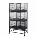 """Six Unit Breeder Cage with Dividers (40""""x20""""x68"""")"""