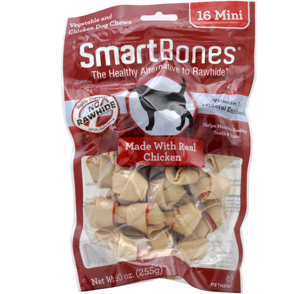 SmartBones Mini Chicken Chews (16 pack) im test
