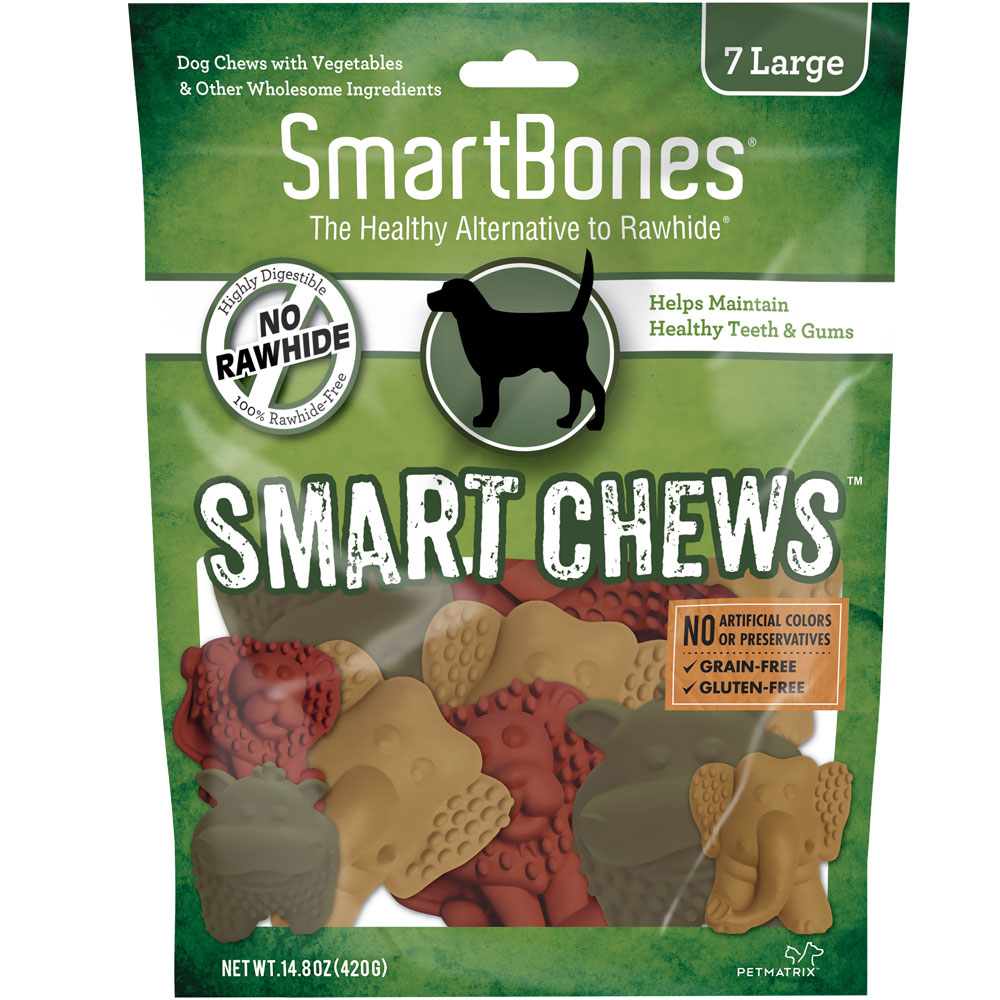 SmartBones Smart Chews (7 Large Safari Chews) im test
