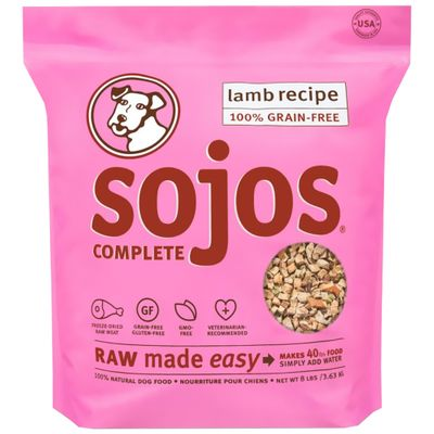 Sojos Complete Dog Food - Lamb (8 lb)