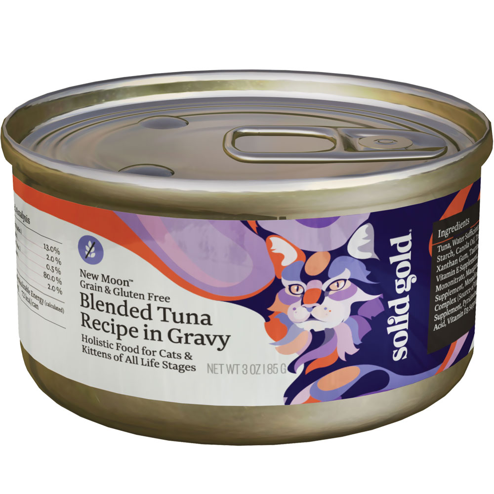 Solid Gold Blended Tuna Cat Canned Food (3 oz) im test
