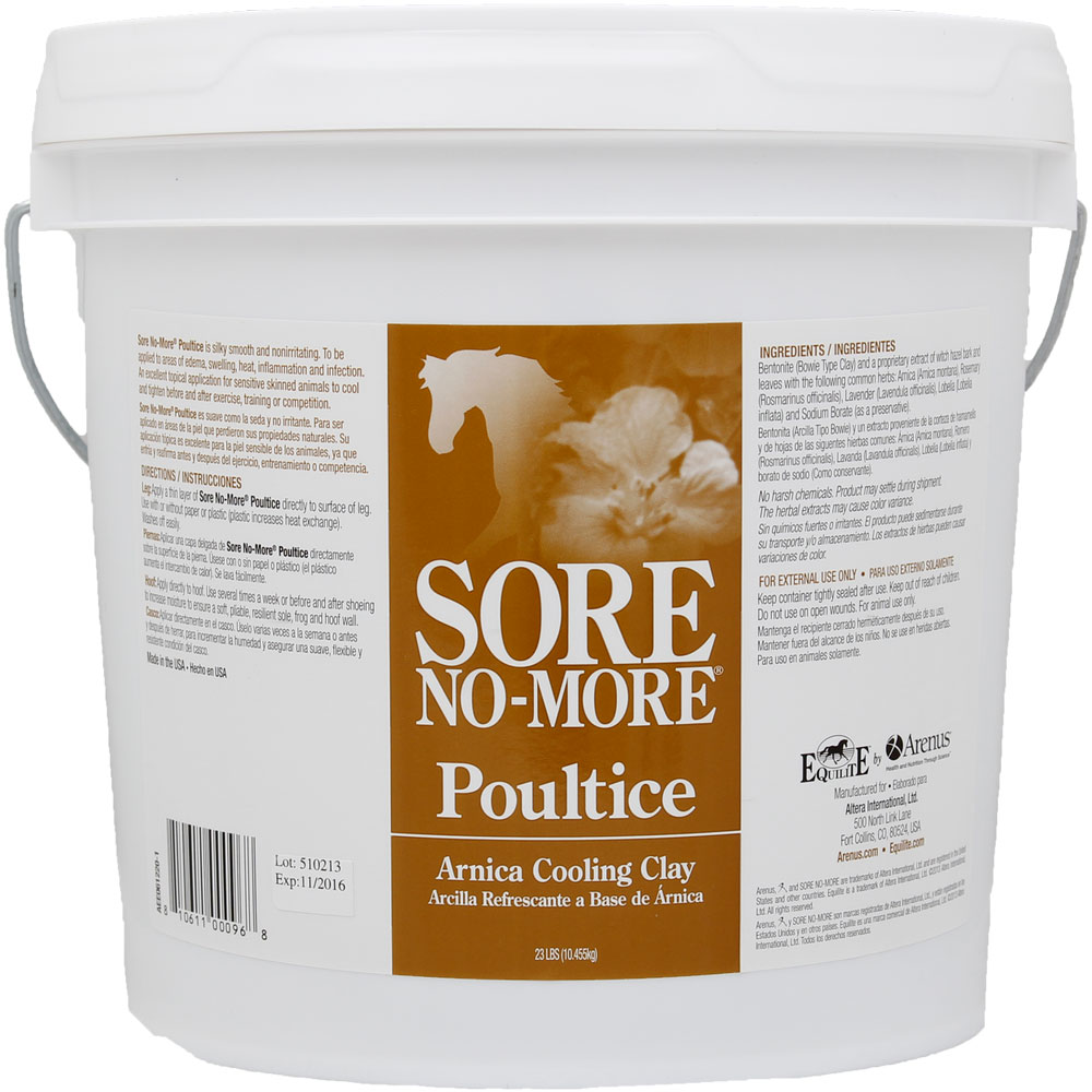 Sore No-More Cooling Clay Poultice (23 lb) im test