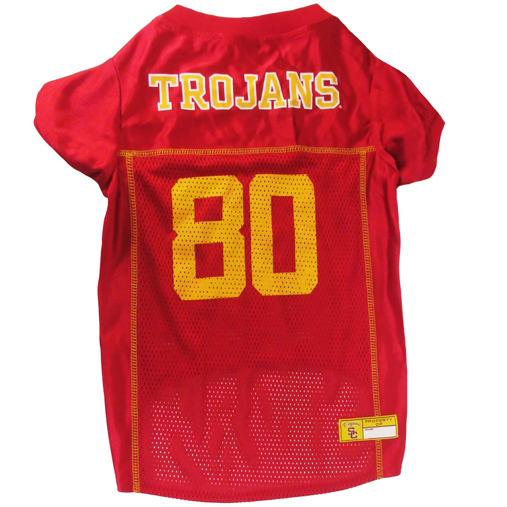 Image of Southern California Trojans Dog Jersey - Large from EntirelyPets