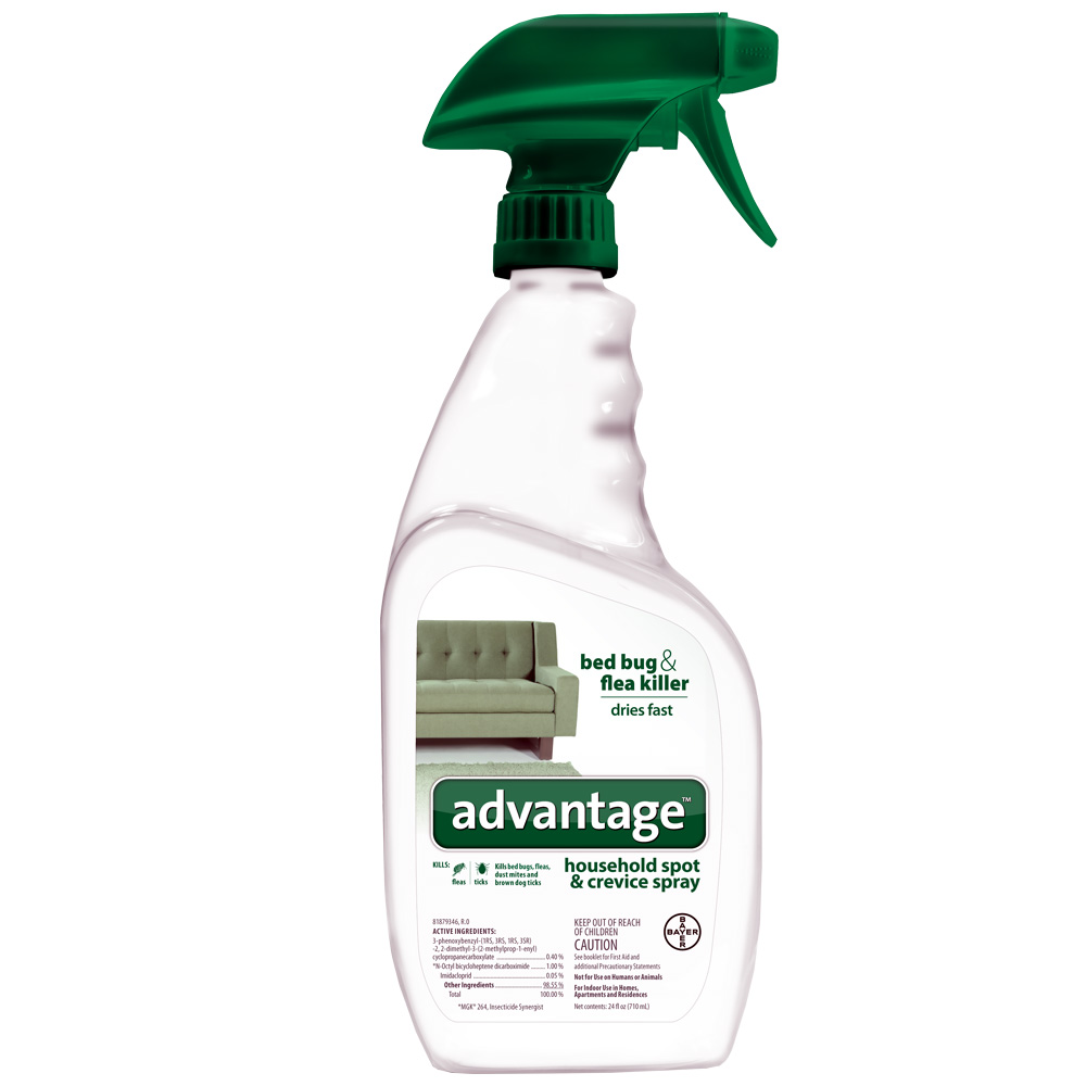 Advantage Spot & Crevice Spray (24 oz) im test