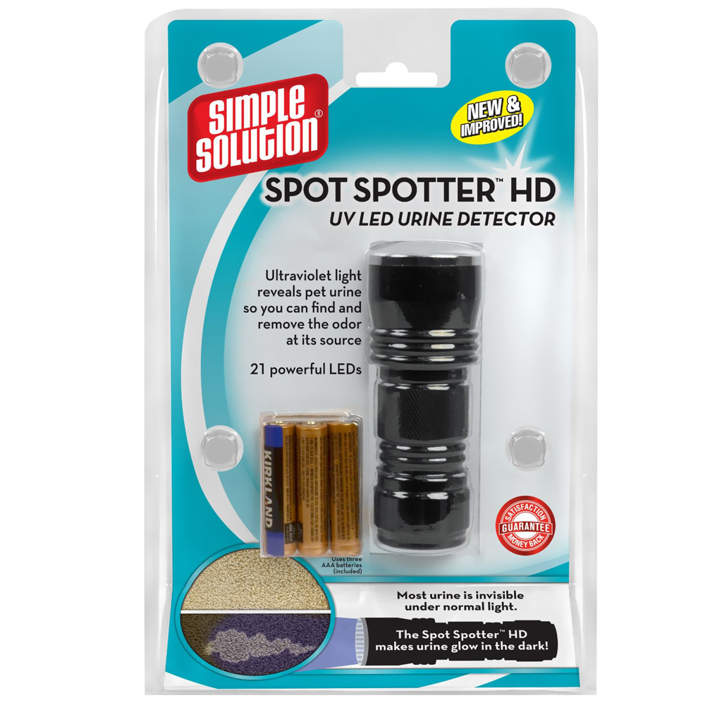 Simple Solution Spot Spotter HD UV Urine Detector im test