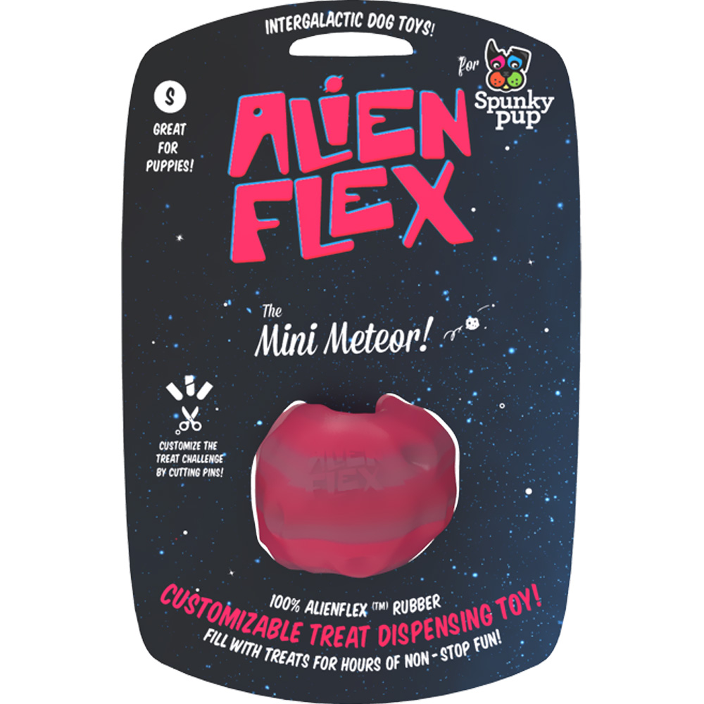 Spunky Pup Alien Flex™ Treat Toys