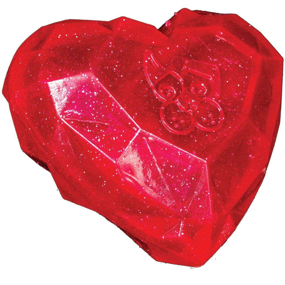 SPUNKY-PUP-SQUEAKY-GEMS-HEART-TOY