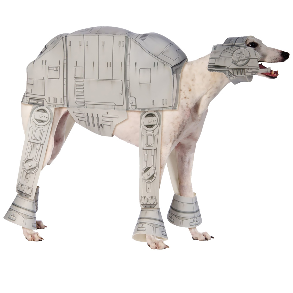 Star Wars At-At Imperial Walker Pet Costume - Medium im test