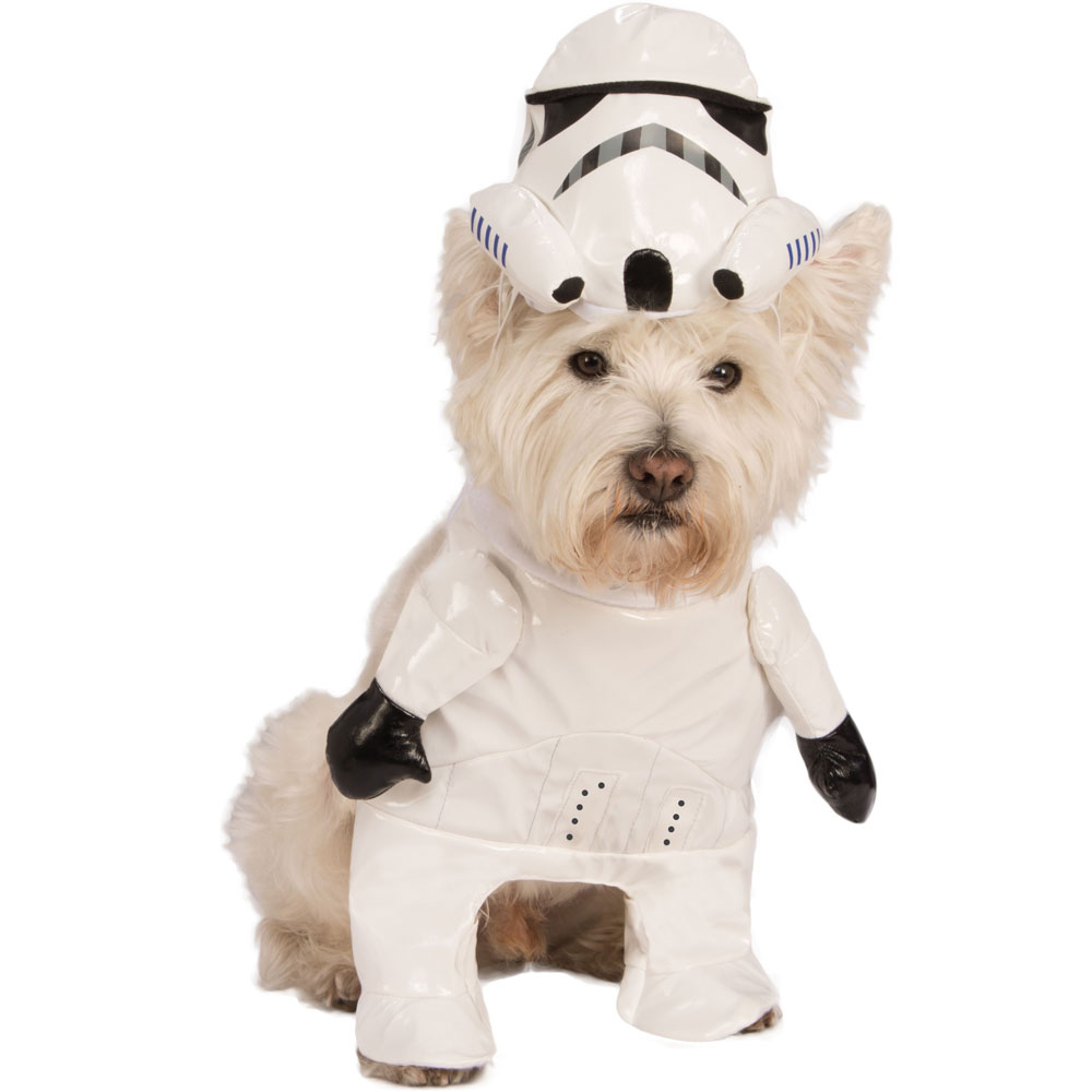 Star Wars Storm Trooper Dog Costume - Large im test
