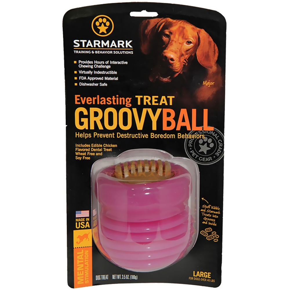 Starmark Everlasting Groovy Ball - Large im test