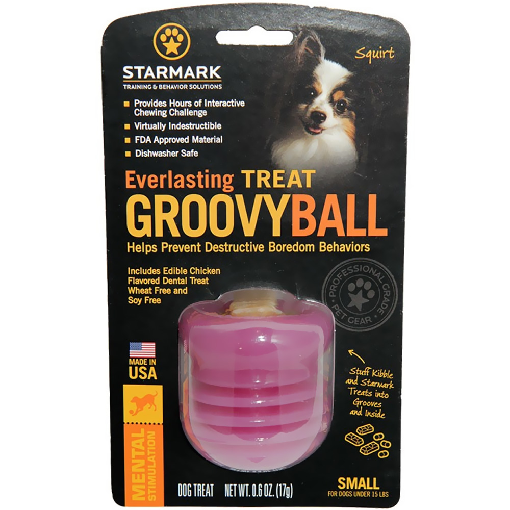 Starmark Everlasting Groovy Ball - Small im test