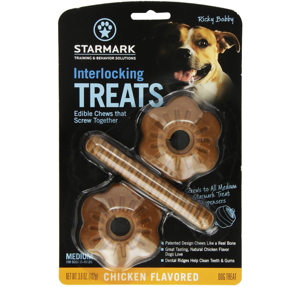Starmark Interlocking Treats Chicken - Medium im test
