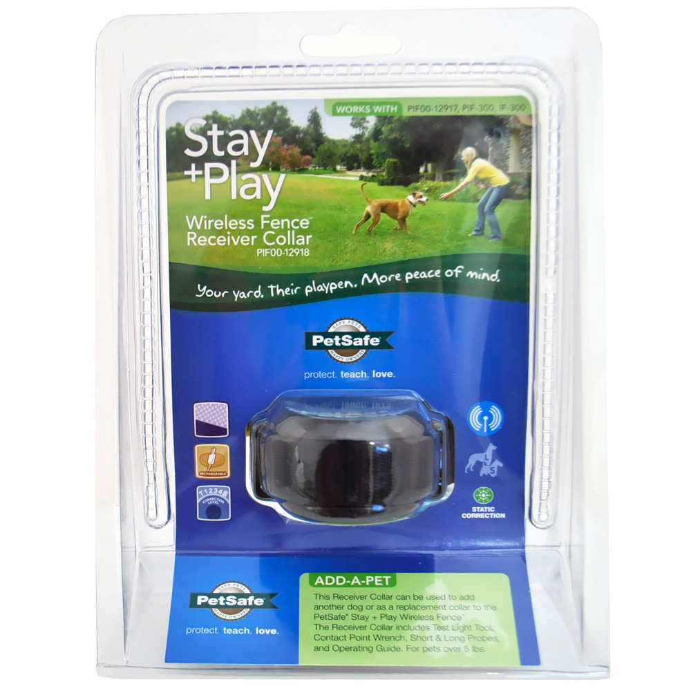 Image of Stay + Play Wireless Fence Receiver Collar