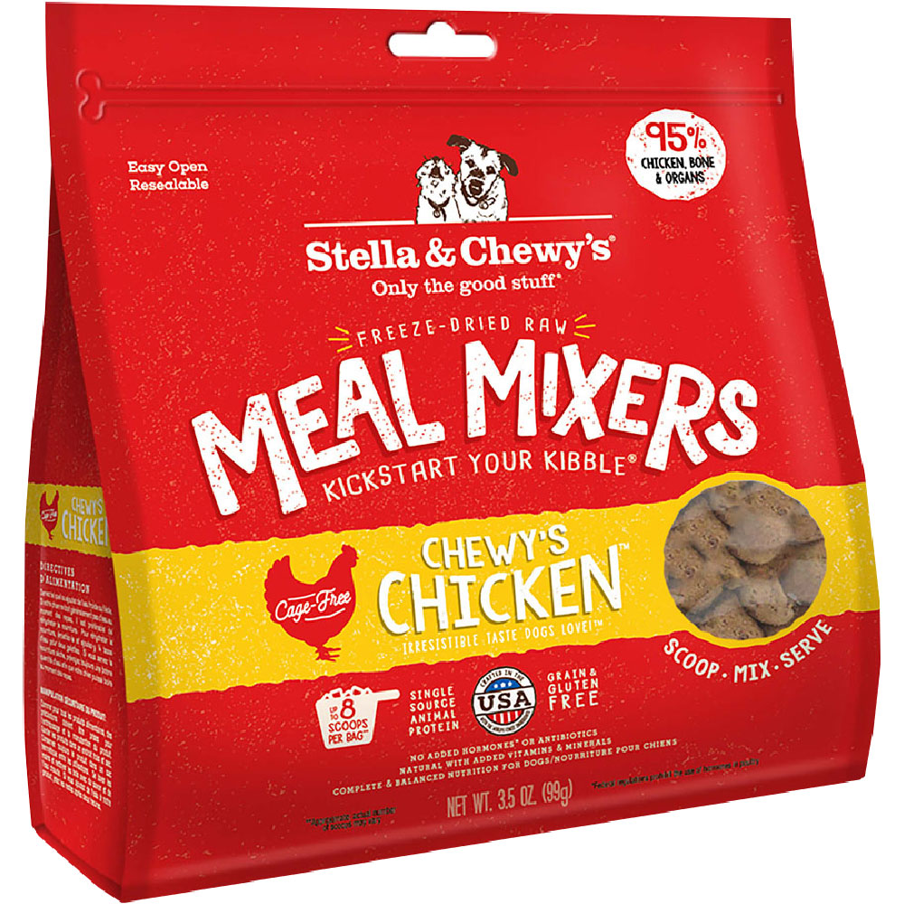 Stella & Chewy's Freeze-Dried - Chewy's Chicken Meal Mixers (18 oz) im test