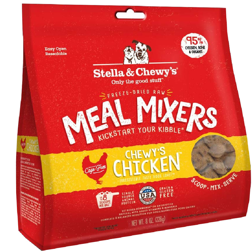 Stella & Chewy's Freeze-Dried - Chewy's Chicken Meal Mixers (8 oz) im test
