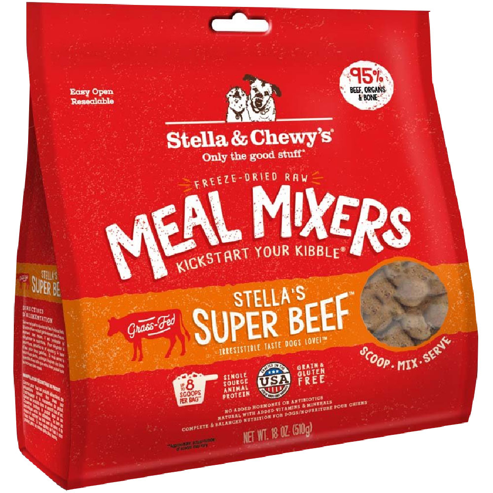 Stella & Chewy's Freeze-Dried - Stella's Super Beef Meal Mixers (18 oz) im test