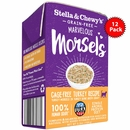 Stella & Chewy's Marvelous Morsels - Cage Free Turkey Recipe Cat Food 12/5.5oz