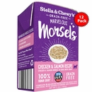 Stella & Chewy's Marvelous Morsels Chicken & Salmon Medley Cat Food 12/5.5oz