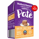 Stella & Chewy's Purrfect Pate - Cage Free Turkey Recipe Cat Food 12/5.5oz
