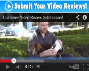Submit Your Video Reviews!