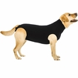 Suitical Recovery Suit for Dogs Black - Extra Large