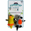 SuperCat Plush Birds with Catnip Spray