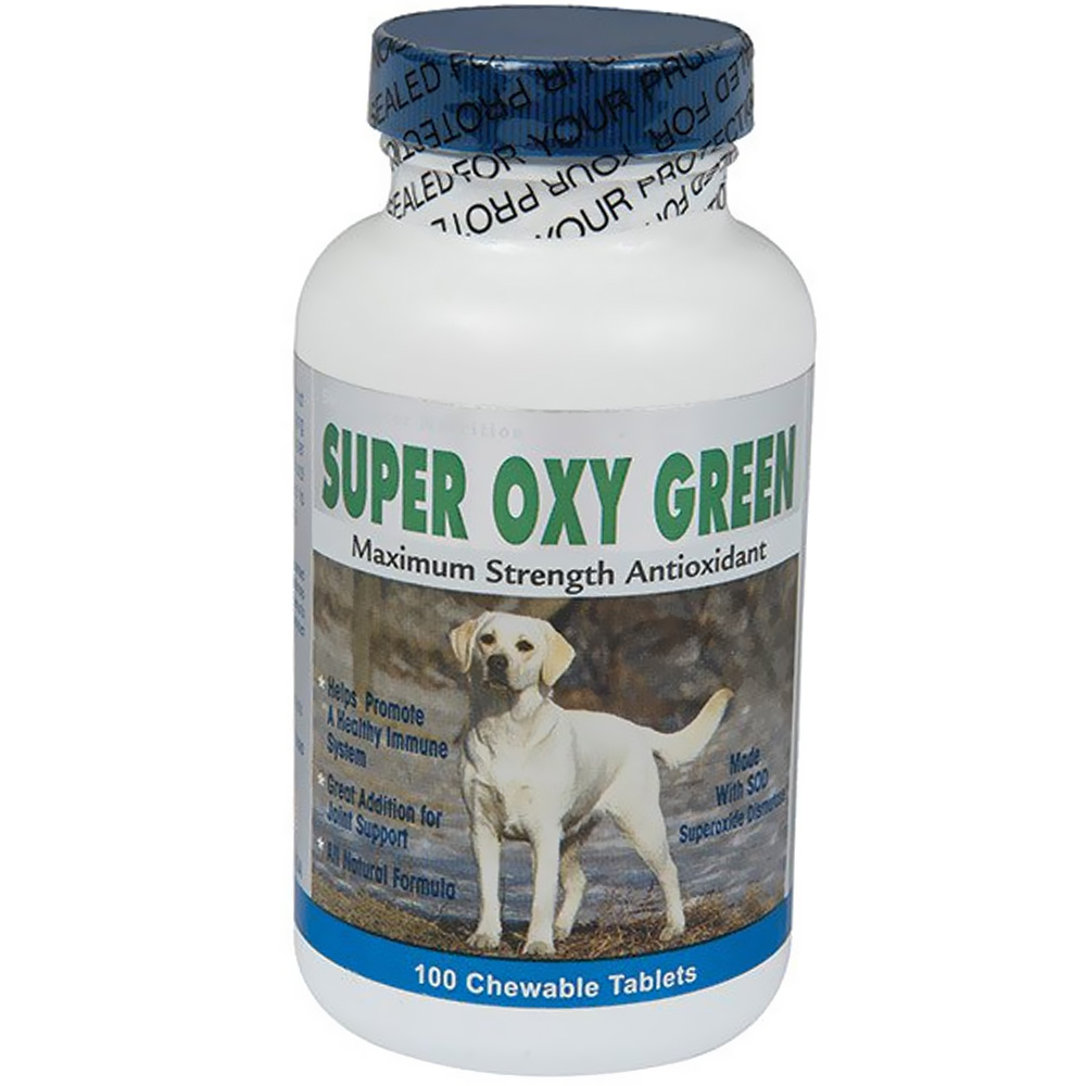 Sweetwater Nutrition Super Oxy Green - 100 count - from EntirelyPets