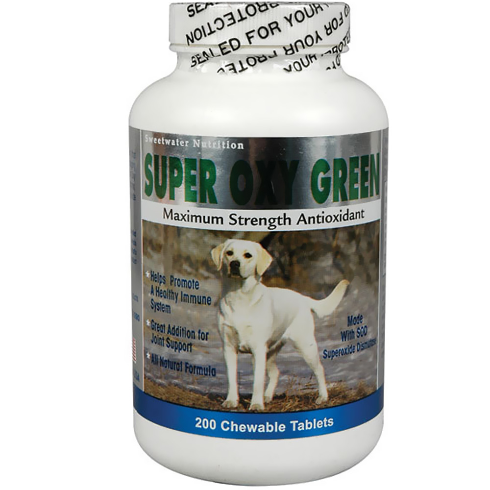 Sweetwater Nutrition Super Oxy Green - 200 count - from EntirelyPets