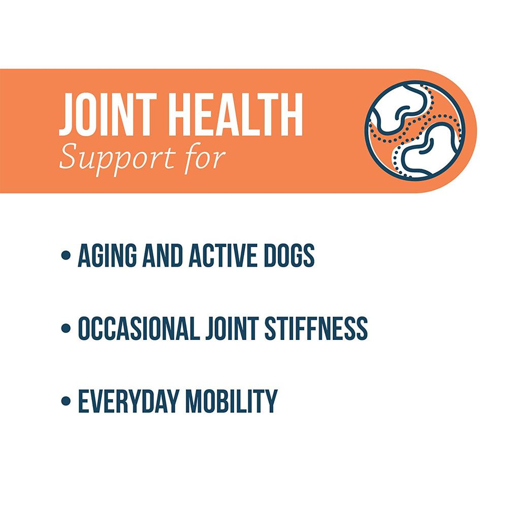 Joint health support for aging and active dogs, occasional joint stiffness, everyday mobility
