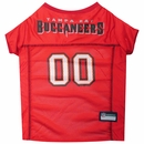 Tampa Bay Buccaneers Dog Jersey - XSmall